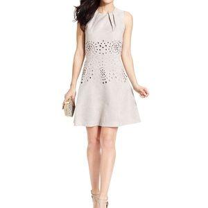 Faux Suede Jessica Simpson Dress